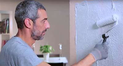 Otra forma r pida y f cil de eliminar el gotel bricopared beissier - Se puede poner papel pintado sobre gotele ...