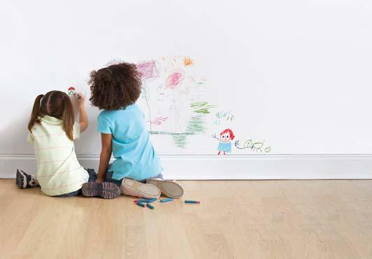 Cómo eliminar manchas en la pared: Especial niños | Bricopared ...