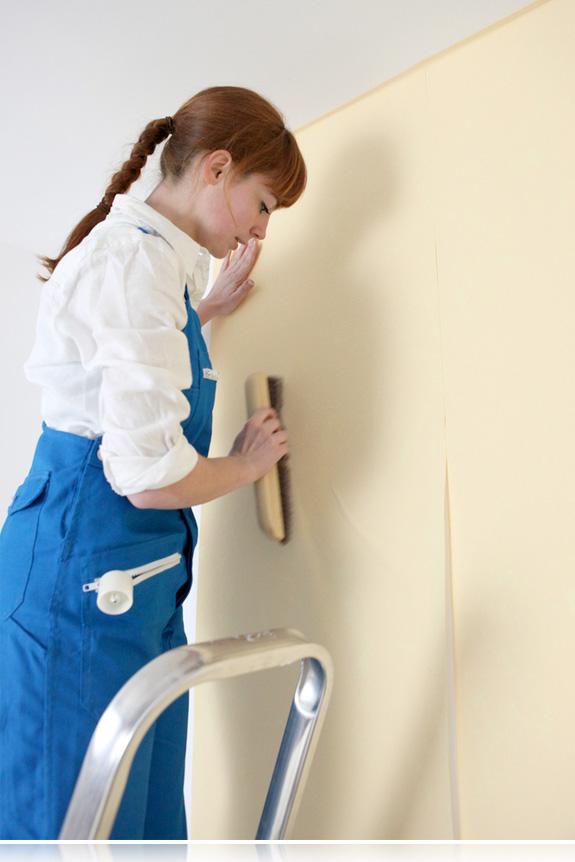 C mo colocar papel pintado en una pared bricopared for Colocar papel pintado