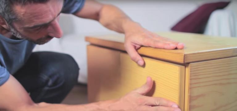 Reparar desperfectos sobre la madera