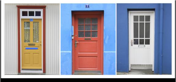 Colores para puertas pintar las puertas de interior sf for De que color puedo pintar los marcos de las puertas