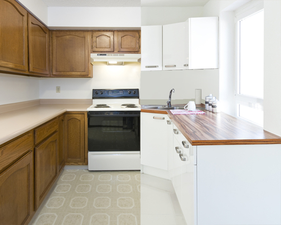 Renueva tu cocina sin obras bricopared beissier - Cambiar encimera cocina sin obras ...