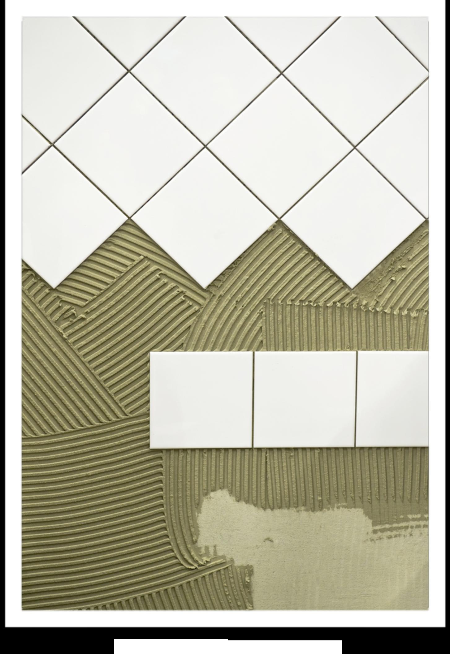 Azulejos con cemento