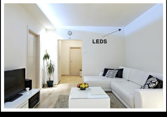 Escoger la iluminaci n de tu hogar bricopared beissier - Iluminacion led hogar ...