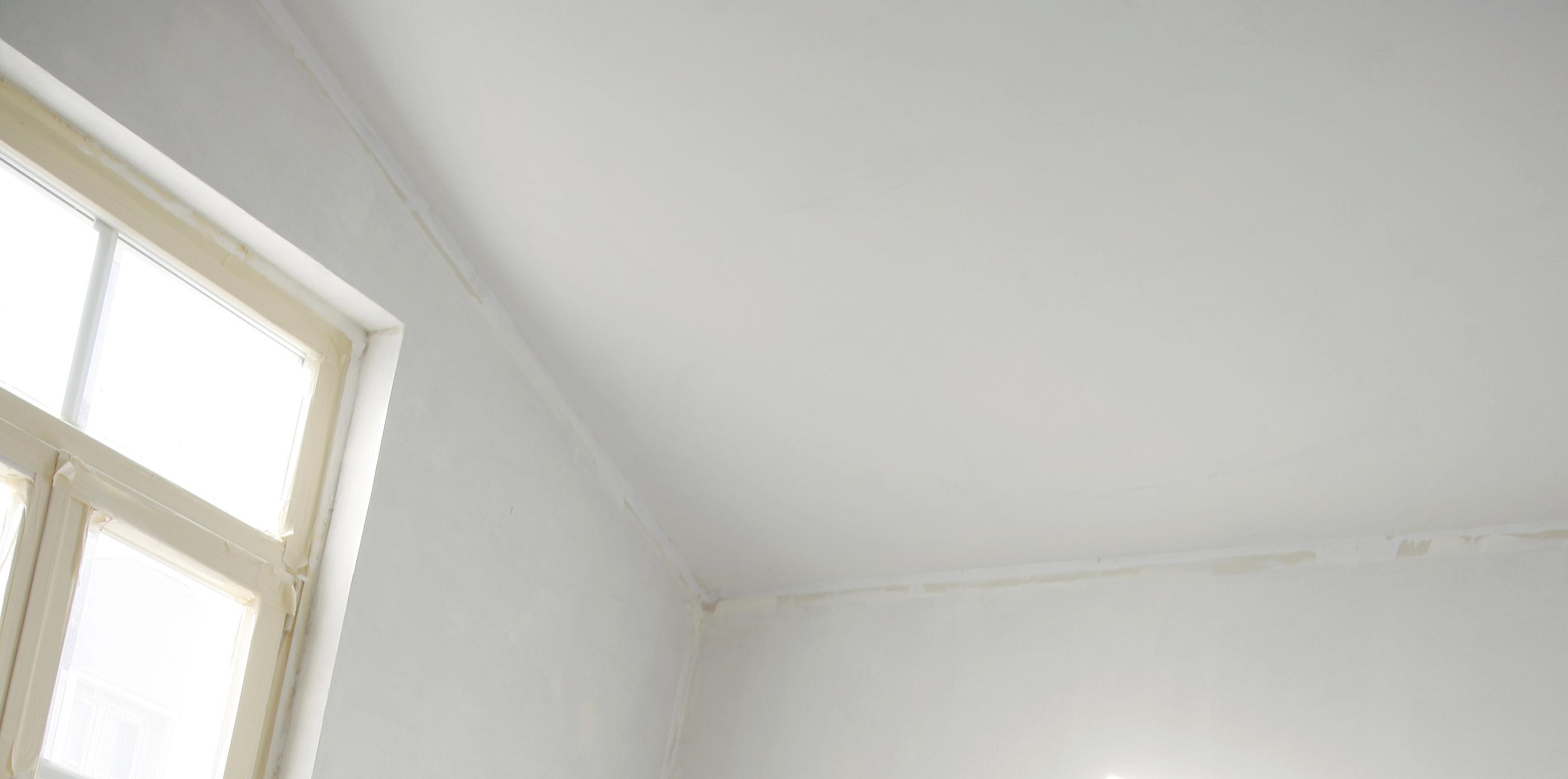 Pintar techo cocina grasa