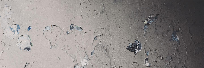 Pequeños desperfectos en la pared: golpes y agujeros