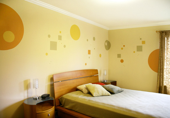 Ideas originales para pintar tu pared bricopared beissier - Ideas originales para decorar paredes ...