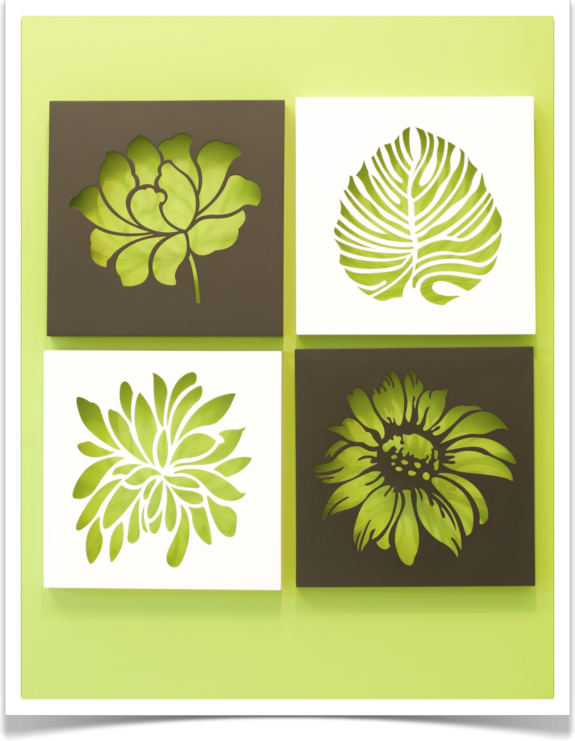 Plantillas para pintar la pared bricopared beissier - Plantillas cenefas para pintar ...