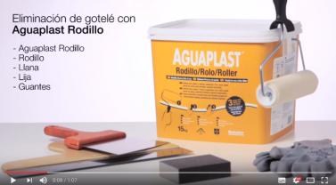 Vídeo tutorial: Eliminar gotelé con un rodillo