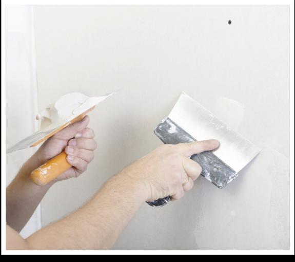 Aguaplast agujeros taco pared