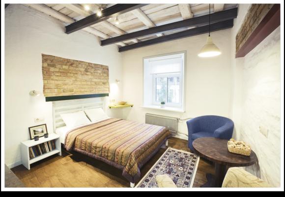 Decoración rústica habitación