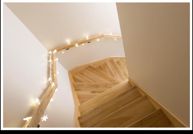 Las escaleras bricopared beissier - Cuadros para subida escaleras ...