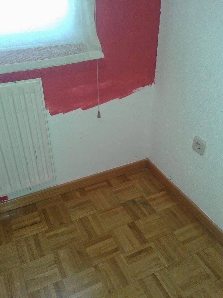 Arreglar pared mal pintada