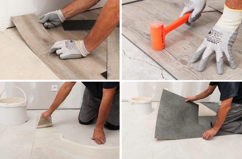 Cambiar y reparar el suelo de casa bricopared beissier - Cambiar suelo casa precio ...