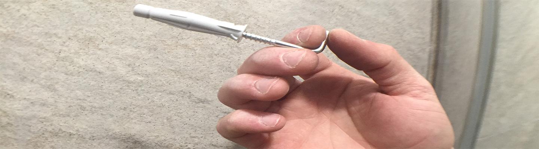 Cómo retirar los tacos de fijación