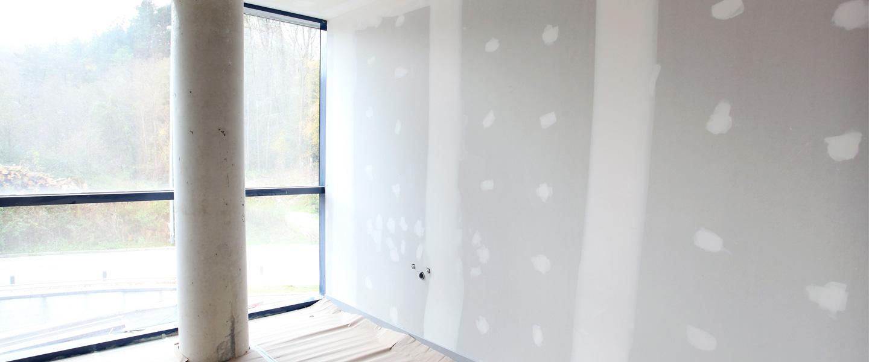Cómo lucir una pared de yeso laminado