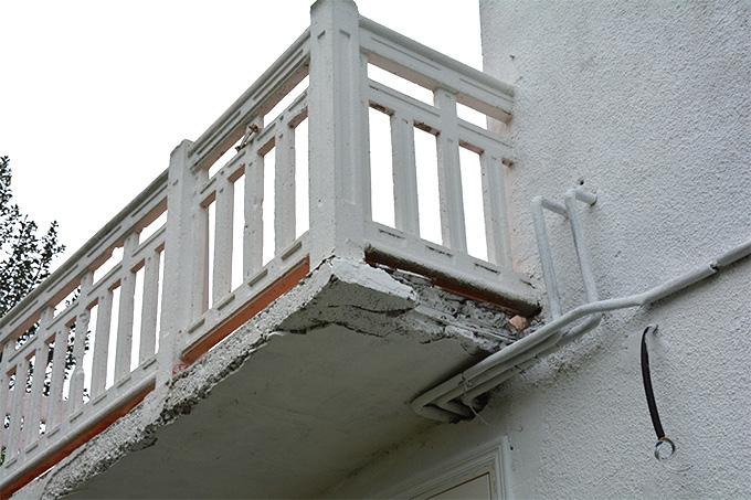 Impermeabilizaci n de fachadas bricopared beissier for Tapar barandilla balcon