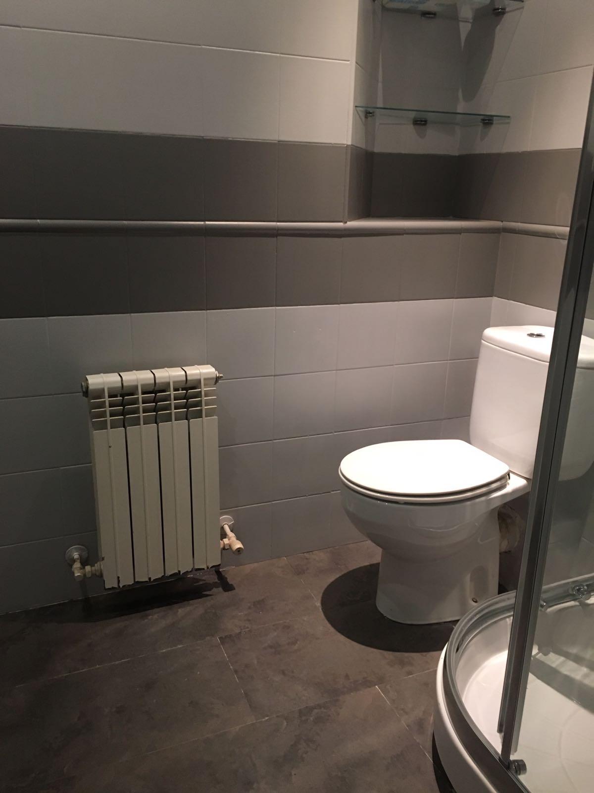 Una aspecto nuevo para un cuarto de baño