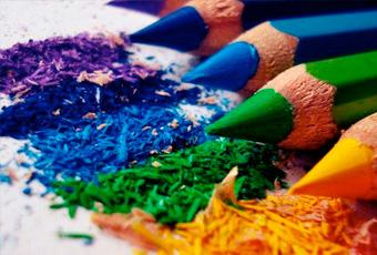 Colores distintos que combinan bien