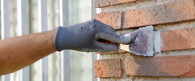 Reparar Grietas En Paredes De Ladrillos With Reparar Grietas En  ~ Como Arreglar Una Pared Desconchada