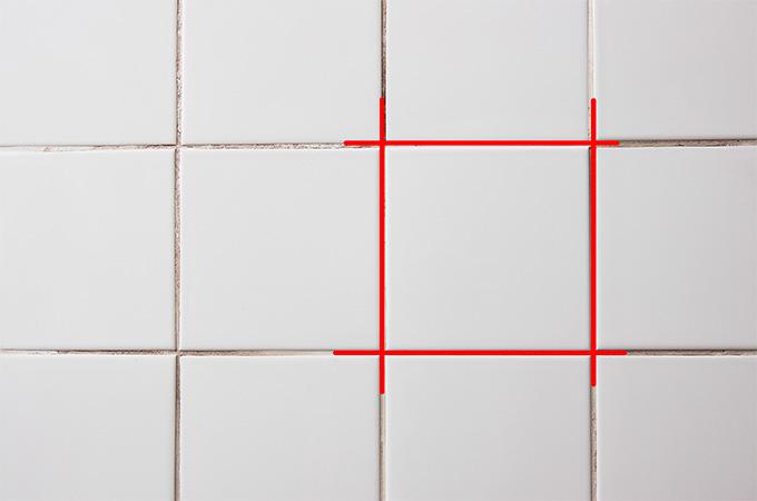 En rojo aparecen los tramos de junta que deben retirarse.