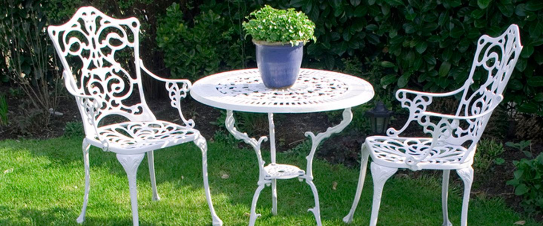 Pintar una silla de jardín con Todo Terreno Spray