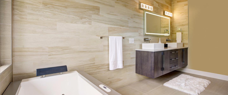 Realicatar el baño sin escombros