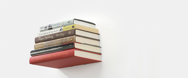 Cómo hacer una balda de libros flotantes