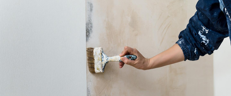 Técnicas decorativas de pintor en desuso