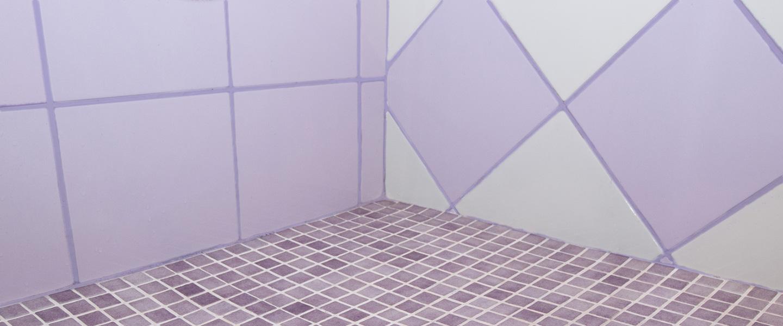 Colorea las juntas de los azulejos