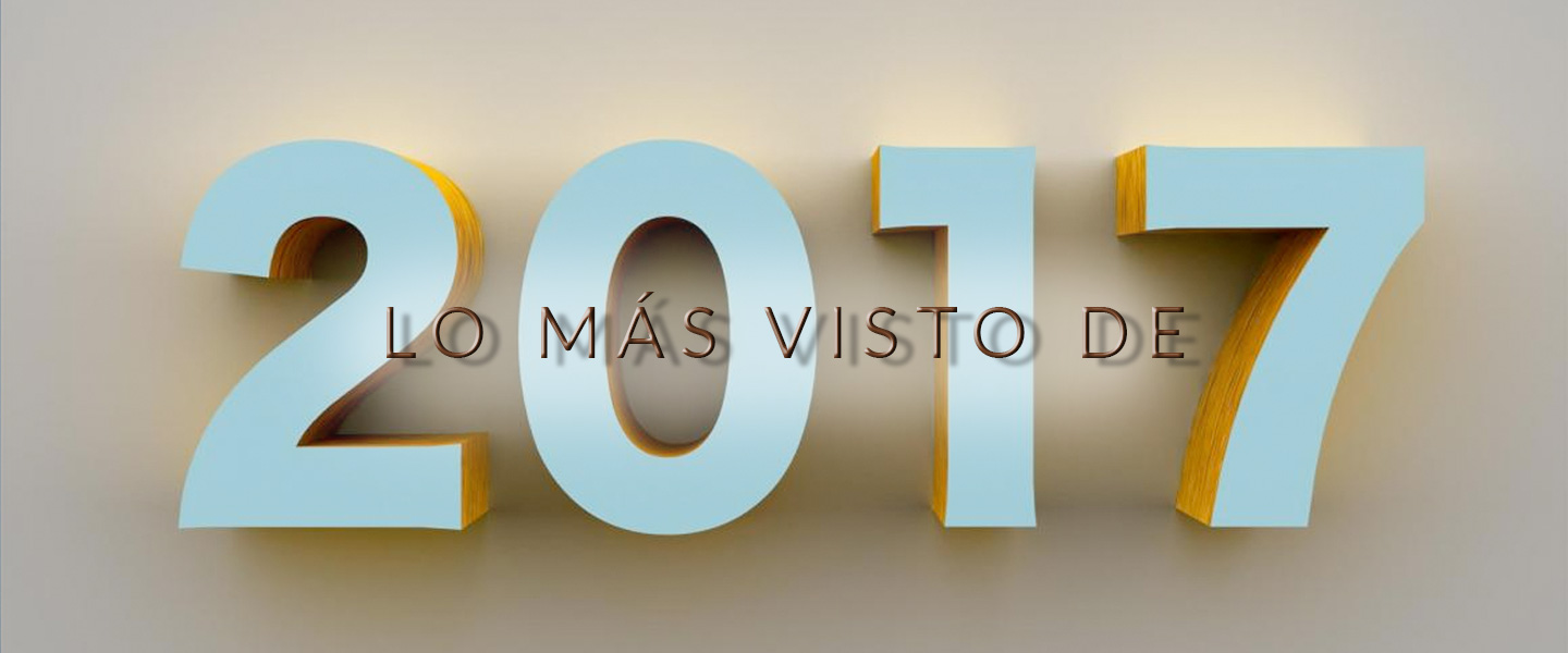 Los cinco post más vistos de 2017