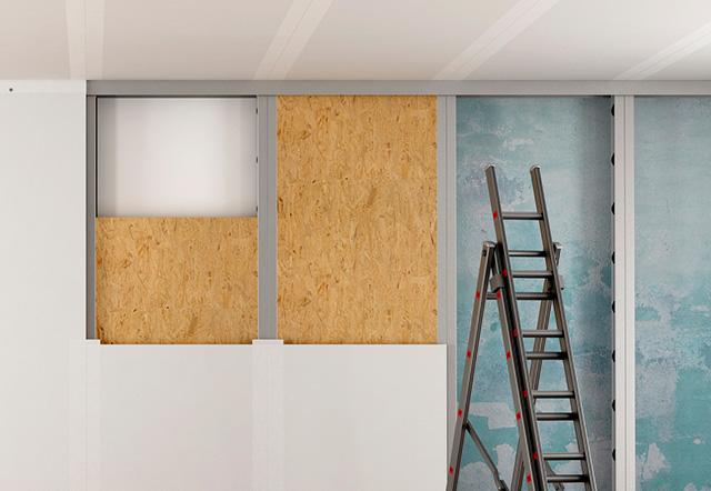 Reparaciones en paredes de yeso laminado | Bricopared | Beissier