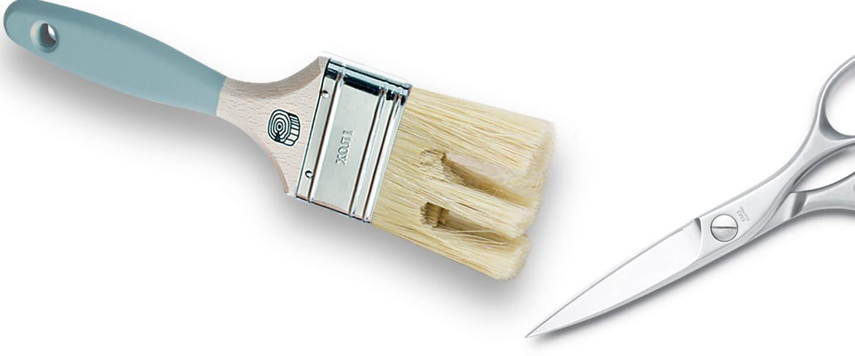 Truco: Pintar imitando vetas de madera