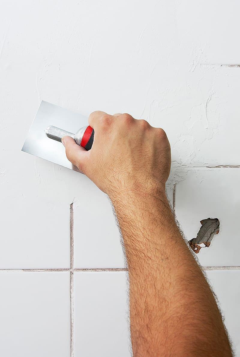 Cubrir azulejos en mal estado