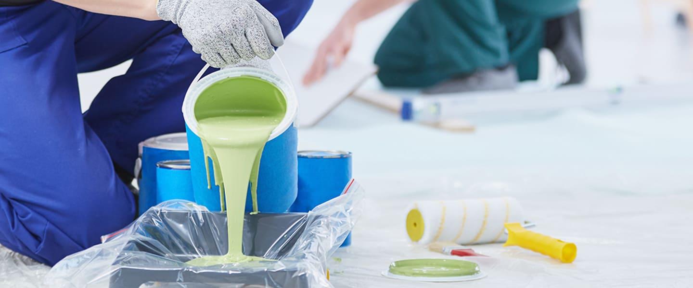 Truco: olvídate de limpiar la bandeja de pintura