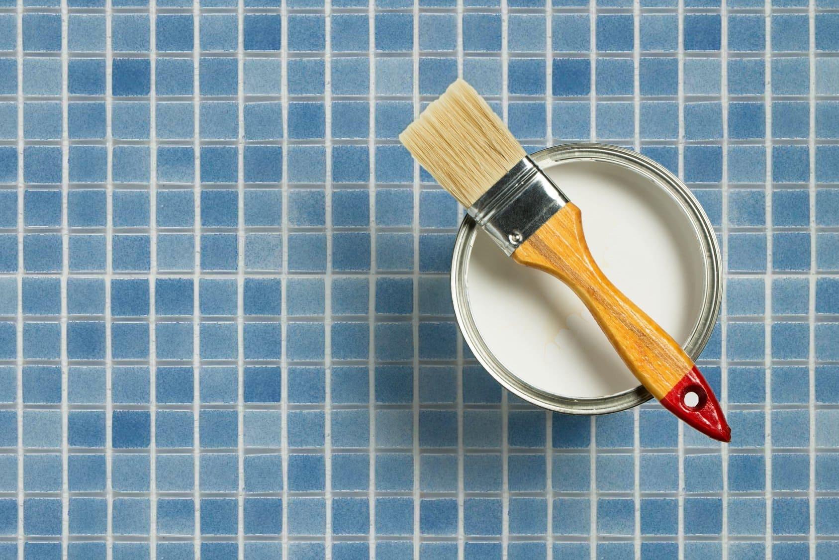 ¿Se pueden pintar azulejos rugosos?