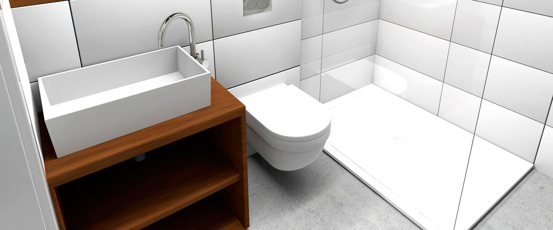 Consejos para dimensionar bien un baño pequeño