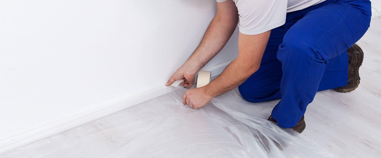Truco: Lijar grandes superficies sin llenar la casa de polvo