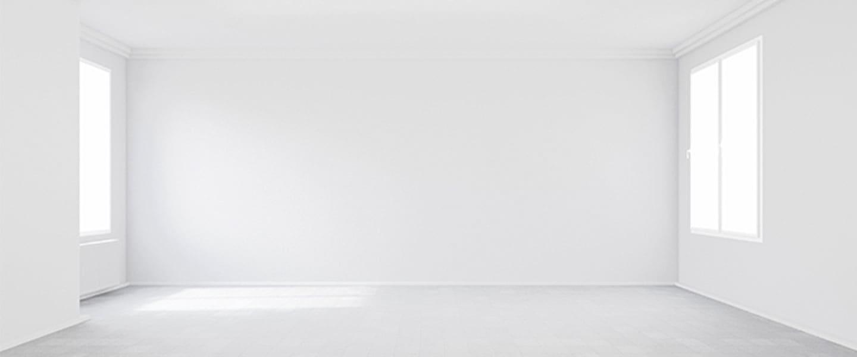 Trucos visuales con la pintura de paredes y techos