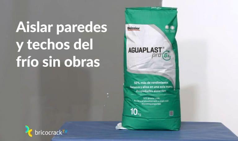 Aislamiento de paredes frías con Aguaplast Pro