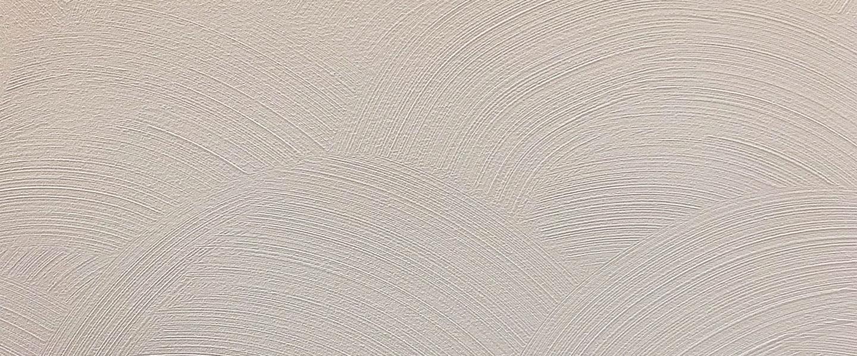 Decoración de paredes con patrones en relieve en forma de ola