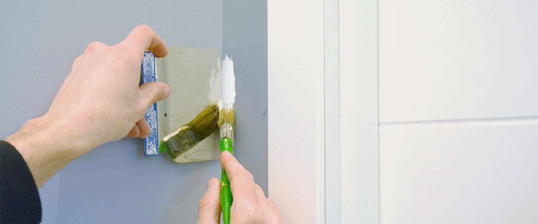Truco: pintar esquinas sin cinta de carrocero ni destreza de pintor