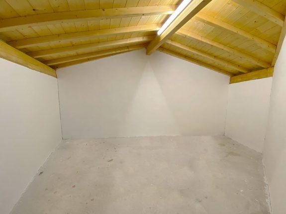 garaje pitado