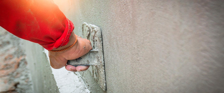 Revestimiento de muros exteriores: enfoscado y revoco