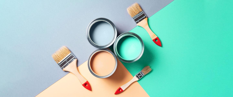 ¿Pinturas al agua o al disolvente?