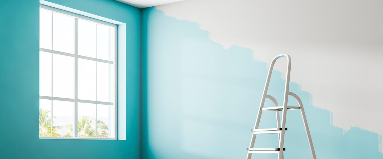 Cómo pintar una estancia completa (techos incluidos)