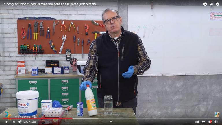Trucos y productos para quitar manchas de las paredes